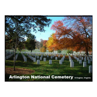 Nationaler Friedhof Arlingtons in der Postkarte