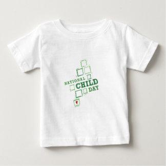 Nationaler Kindertag Baby T-shirt