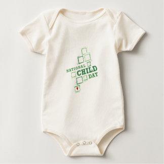 Nationaler Kindertag Baby Strampler