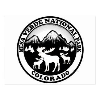 Nationaler Park-Colorados MESAs Verde Postkarte