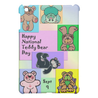 Nationaler Teddybär-Tag am 9. September iPad Mini Hülle