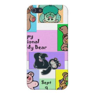 Nationaler Teddybär-Tag am 9. September iPhone 5 Etuis