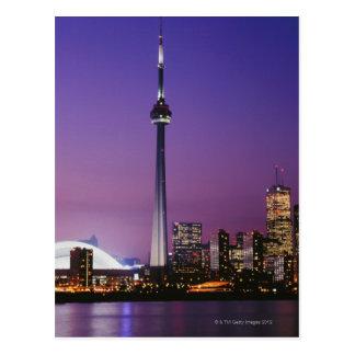 Nationaler Turm Kanadas, Toronto, Kanada Postkarte