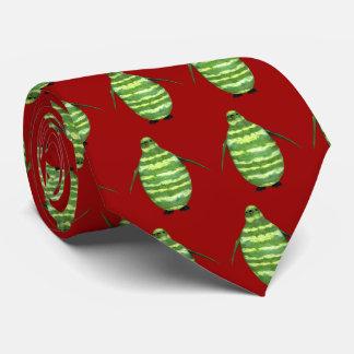 Nationaler Wassermelone-TagesPinguin Krawatte
