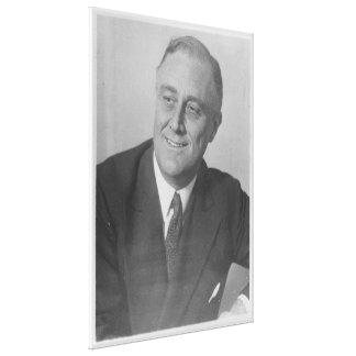 Nationales Archiv-Foto FRANKLIN D. ROOSEVELT 1924 Leinwanddruck