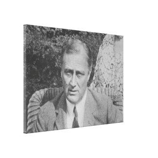 Nationales Archiv-Foto FRANKLIN D. ROOSEVELT 1925 Leinwanddruck
