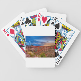 Nationales Monument-Abends-Stürme Colorados Bicycle Spielkarten