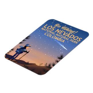 Nationales natürlicher Park-Reiseplakat Los Magnet