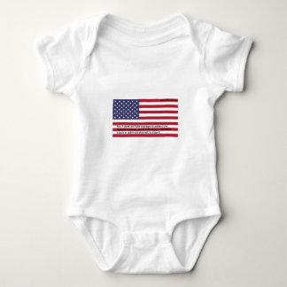 Nationalhymne-Proteste Baby Strampler