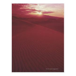 Nationalpark Death Valley, Kalifornien Postkarte