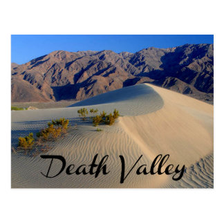 Nationalpark Death Valley, Kalifornien-Postkarte