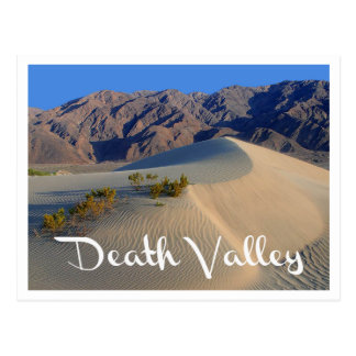 Nationalpark Death Valley, Kalifornien-Postkarte Postkarte