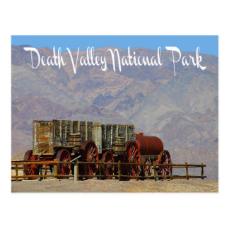Nationalpark Death Valley, Kalifornien-Postkarte Postkarte