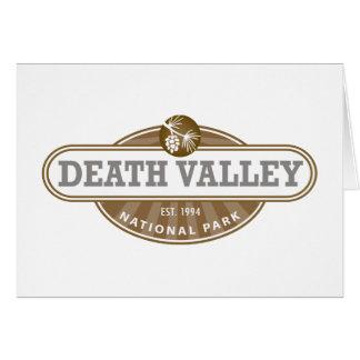 Nationalpark Death Valley Karte