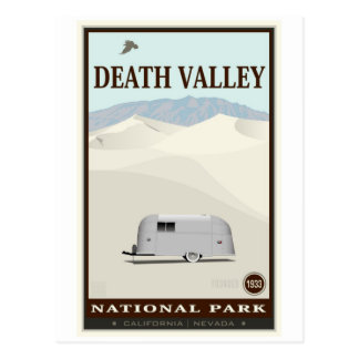 Nationalpark Death Valley Postkarte