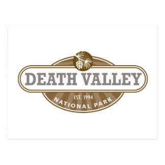Nationalpark Death Valley Postkarte
