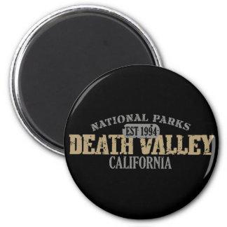 Nationalpark Death Valley Runder Magnet 5,1 Cm