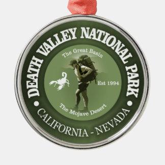 Nationalpark Death Valley Silbernes Ornament
