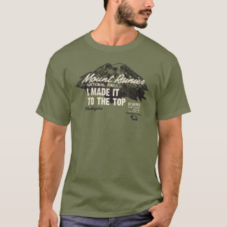 Nationalpark des Mount Rainier Washington IMITTT T-Shirt