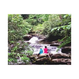 Nationalpark Freund-Great Smoky Mountains Leinwanddruck