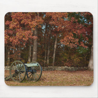 Nationalpark Gettysburg - Fall - Kanone Mauspads