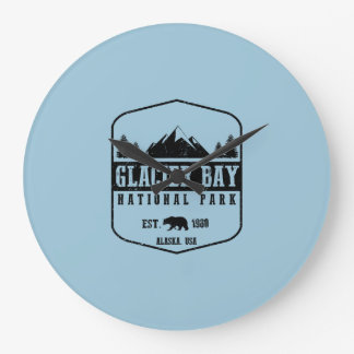 Nationalpark Glacier Bays Große Wanduhr