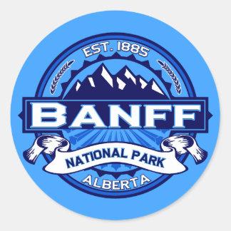 Nationalpark-Logo Banffs Runder Aufkleber