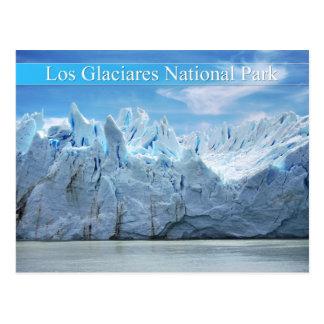 Nationalpark Los Glaciares, Argentinien Postkarte