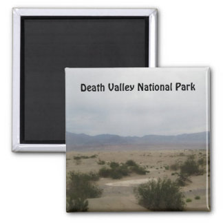 Nationalpark-Magneten Death Valley Quadratischer Magnet
