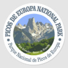 Nationalpark Picos de Europa Runder Aufkleber