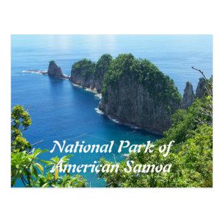 Nationalpark-Postkarte American Samoa Postkarte