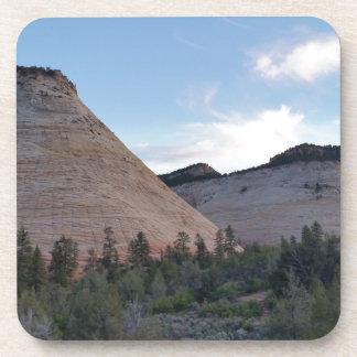 Nationalpark Schachbrett-MESAs Zion Getränkeuntersetzer