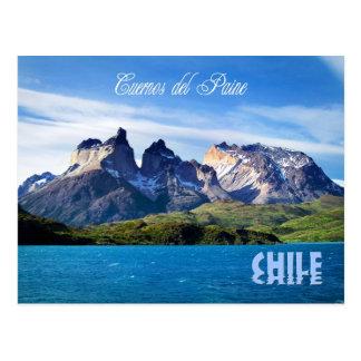 Nationalpark Torres Del Paine, Chile Postkarte
