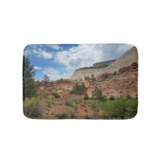 Nationalpark Utah Schachbrett-MESAs Zion Badematte