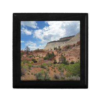 Nationalpark Utah Schachbrett-MESAs Zion Geschenkbox