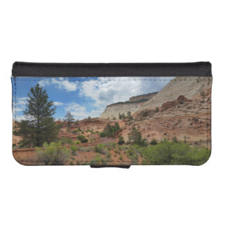 Nationalpark Utah Schachbrett-MESAs Zion iPhone SE/5/5s Geldbeutel