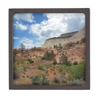 Nationalpark Utah Schachbrett-MESAs Zion Schachtel