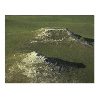 Nationalparkgrünhügel und -ebenen des Achats Postkarte
