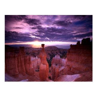 Nationalparkthors-Hammer-Ebene Bryce Postkarte