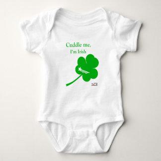 NationOfImmigrants - irisches Baby-Umarmung Baby Strampler