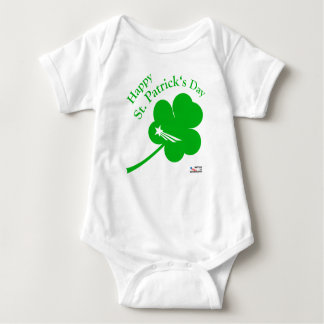NationOfImmigrants - St Patrick Tag Baby Strampler