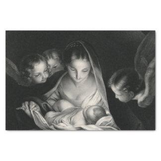 Nativity-Geburt der Engels-Jungfrau Mary Jesuss Seidenpapier