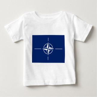 NATO-Flagge Baby T-shirt