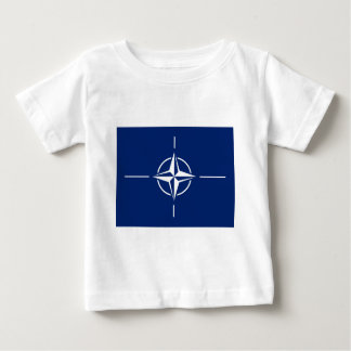 NATO-Flagge Baby T-shirt