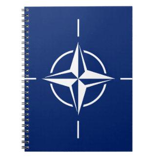 NATO-Flagge Spiral Notizblock