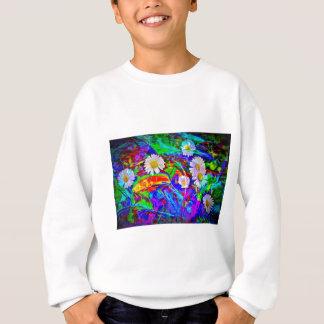 Natur Abstrakt Gänseblümchen Sweatshirt