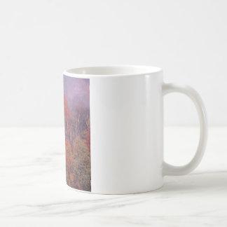 Natur-Baum-Herbst-Mischung Kaffeetasse