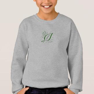 Natur-Blatt-Grün Mini - Sweatshirt