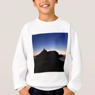 Natur-Dämmerungs-dunkles Schwarz-Mitternacht Sweatshirt