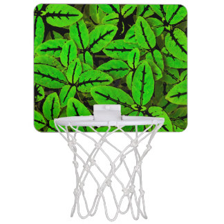 Natur-Druck-Muster Mini Basketball Ring